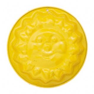 GLÜCKSKÄFER 535023 - Relief-Sandform Sonne, gelb