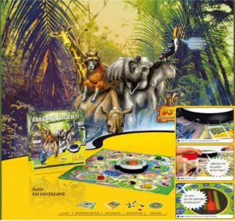 "YVIO 80111 - Konsole + Spiel "" Elefant, Tiger & Co."