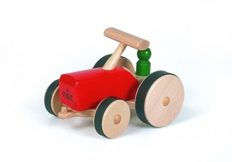 nic 1822 - Creamobil Traktor, rot