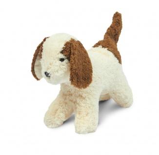 SENGER Y22006 - Tierkind Hund, Kuscheltier, 100% Natur