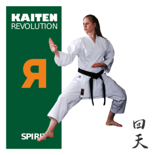KAITEN Karateanzug REVOLUTION SPIRIT Regular 12oz Gr.130