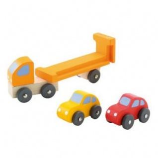 Sevi 82127 - Autotransporter mit Autos, Holz