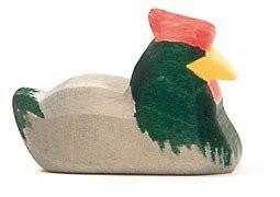 Ostheimer 13142 - Huhn dunkel liegend - Vorschau