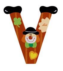 Sevi 81758 - Buchstabe Clown V
