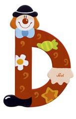 Sevi 81740 - Buchstabe Clown D - Vorschau 1