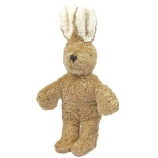 SENGER Y21902 - Tierpuppen-Baby Hase beige 20cm, 100% Natur