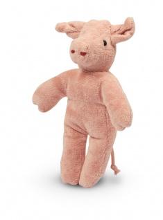 SENGER Y21907 - Tierpuppen-Baby Schwein 20cm, 100% Natur