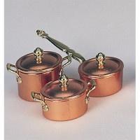 Bodo Hennig 27180 - Kupfertöpfe für Puppenstube