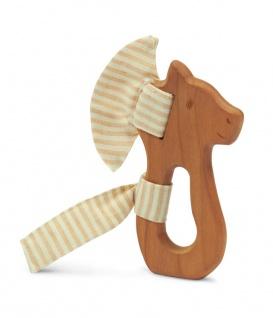 SENGER Y21301 - Natur Pur Holz-Greifling Pferd (vegan)