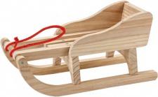 Käthe Kruse 65103 - Puppenzubehör - Holz Schlitten
