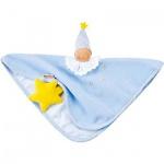 Käthe Kruse 74867 - Organic Schmusetuch hellblau mit Sternen