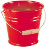 GLÜCKSKÄFER 535054 - Metalleimer, rot