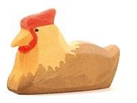 Ostheimer 13122 - Huhn braun liegend