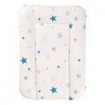 GEUTHER 5832 Wickelauflage 55x75cm, 06 Sterne blau