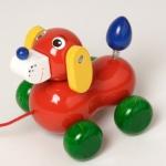 Walter 63651 - Hund, Nachziehspielzeug