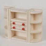 Bodo Hennig 21104 - Wohnzimmerschrank für Puppenstube