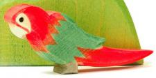 Ostheimer 21402 - Papagei rot