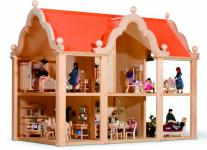 """Bodo Hennig 20140 - Puppenhaus """" Landhaus Classic"""""""