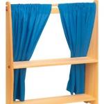 GLÜCKSKÄFER 528222 - Vorhang blau, 2 Stück