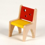 Bodo Hennig 23748 - Kinderzimmerstuhl für Puppenstube