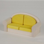 Bodo Hennig 21108 - Sofa für Puppenstube