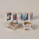 Bodo Hennig 27906 - Bücherset (12 Bücher) für Puppenstube