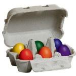ERZI 17012 - Eier, bunt im Karton