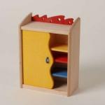Bodo Hennig 23742 - Kinderzimmerschrank für Puppenstube