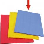 GLÜCKSKÄFER 528202 - Spieltücher groß, blau