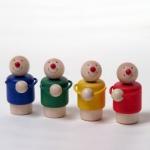 Nic 1804 - Creamobil Spielfiguren 'Maxi' 4 Stück