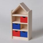 Bodo Hennig 21308 - Kinderzimmerschrank für Puppenstube