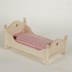 Bodo Hennig 24304 - Einzelbett für Puppenstube