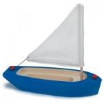GLÜCKSKÄFER 526416 - Segelschiff, blau aus Holz