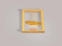 Nic 3102 - Webrahmen Lotte, ohne Webanfang, im Polybeutel