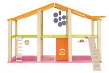 Sevi 82382 - Puppenhaus maxi ohne Möbel