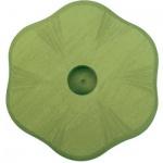 GLÜCKSKÄFER 522855 - Kerzenständer Blume grün