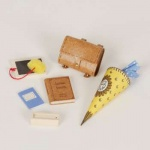 Bodo Hennig 25600 - Schülerset für Puppenstube