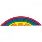GLÜCKSKÄFER 523332 - Brücken-Set, regenbogen-farben