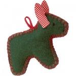 Käthe Kruse 78328 - Weihnachtsanhänger Esel