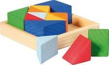 GLÜCKSKÄFER 523345 - Baukasten Quadrat - Dreiecke