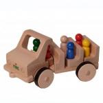 nic 1812 - Creamobil Familienausflug-Auto, 6 Figuren