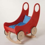 Nic 2652 - Wiege-Wagen rot