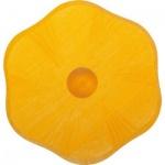 GLÜCKSKÄFER 522857 - Kerzenständer Blume gelb