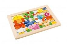 Sevi 82078 - Magnet-Puzzle Bauernhof