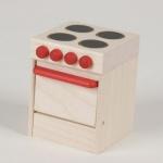 Bodo Hennig 21204 - Elektroherd für Puppenstube
