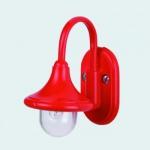 Bodo Hennig 26281 - Außenlaterne rot für Puppenhaus