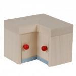 Bodo Hennig 21210 - Eckschrank für Puppenstube
