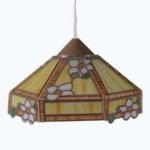 Bodo Hennig 26310 - Hängelampe Tiffany gelb für Puppenhaus