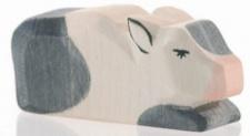 Ostheimer 11046 - Kalb schwarz, liegend