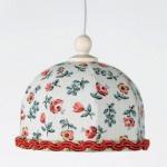 Bodo Hennig 26290 - Hängelampe Rose für Puppenhaus